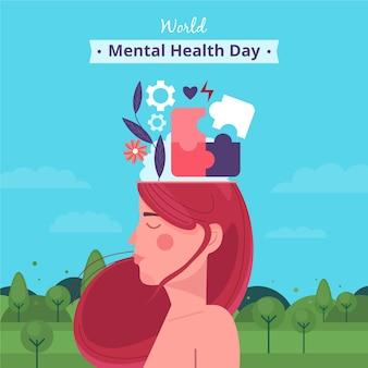Wereld geestelijke gezondheid dag thema