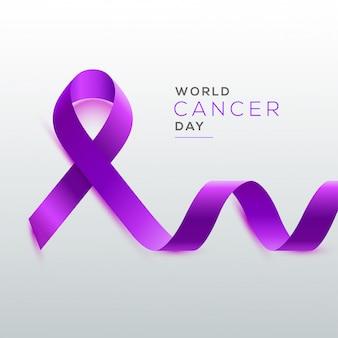 Wereld kanker dag concept.