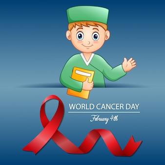 Wereld kankerdag, 4 februari wereldkankerdag ontwerp