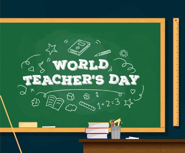 Wereld leraar dag