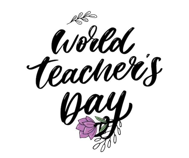 Wereld lerarendag