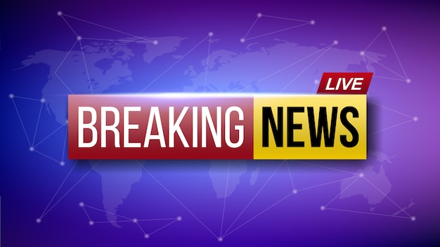 Wereld live breaking news banner