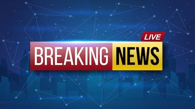 Wereld live breaking news. uitzending van tv-programma's.