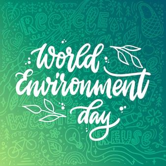 Wereld milieu dag citaat