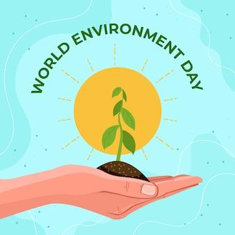 Wereld milieu dag viering thema