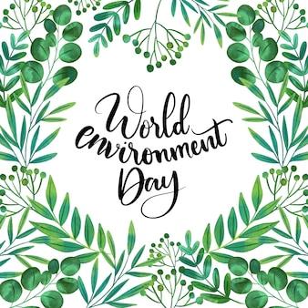 Wereld milieu dag