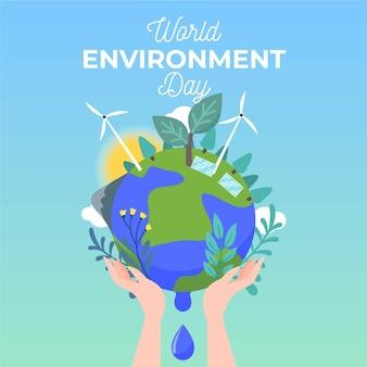 Wereld milieu dagthema