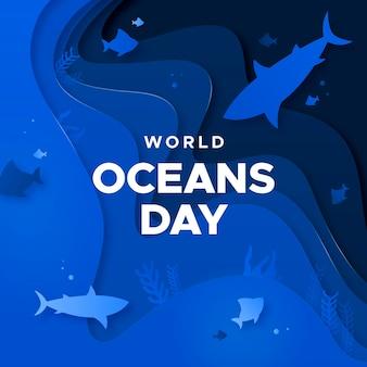 Wereld oceanen dag evenement