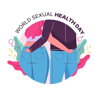 Wereld seksuele gezondheid dag concept
