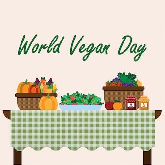 Wereld vegan day