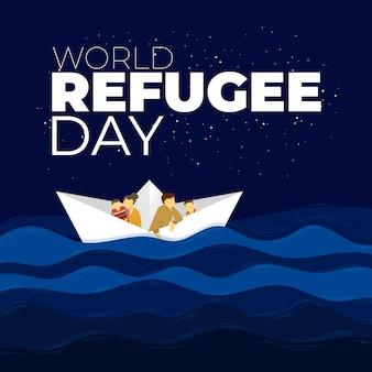 Wereld vluchtelingendag thema