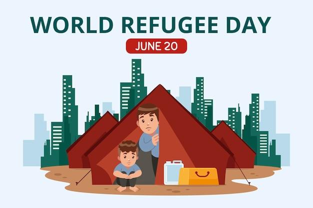 Wereld vluchtelingendag
