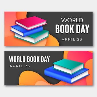 Wereldboekendag banners