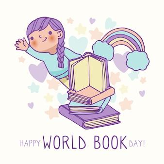 Wereldboekendag tekenen
