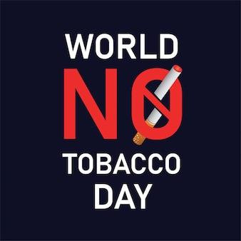 Werelddag zonder tabak