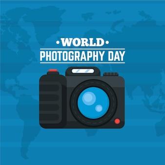 Wereldfotografie dag met camera