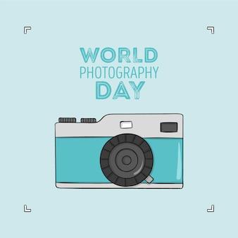 Wereldfotografie dag tekenen