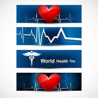 Wereldgezondheidsdag headers