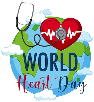 Wereldhartdag logo