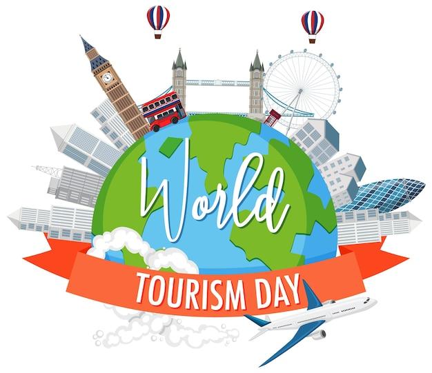 Wereldtoerisme dag symbool