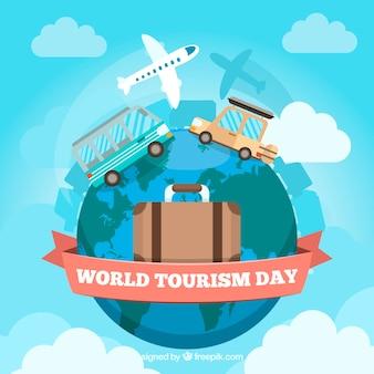 Wereldtoerisme dag, verschillende manieren van reizen