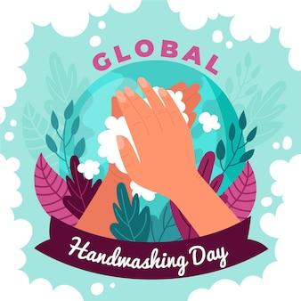 Wereldwijd handwasdagthema