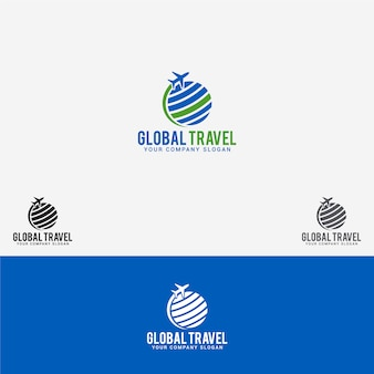 Wereldwijd reislogo