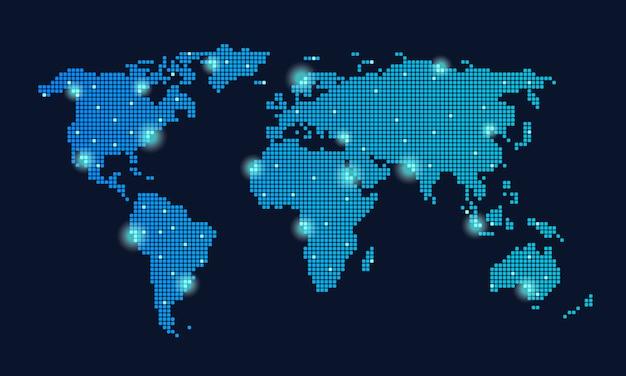 Wereldwijd technologienetwerk