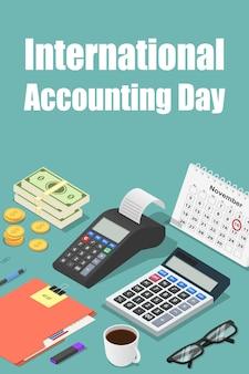 Wereldwijde boekhoudingsdag