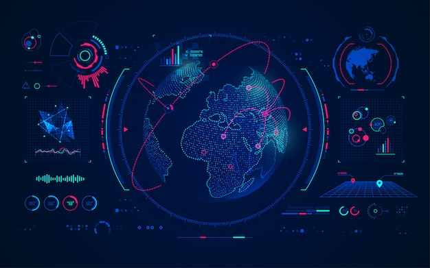 Wereldwijde communicatietechnologie