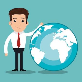 Wereldwijde groei