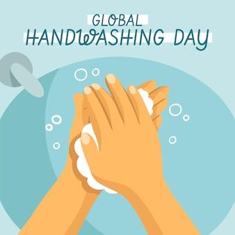 Wereldwijde handwasdag