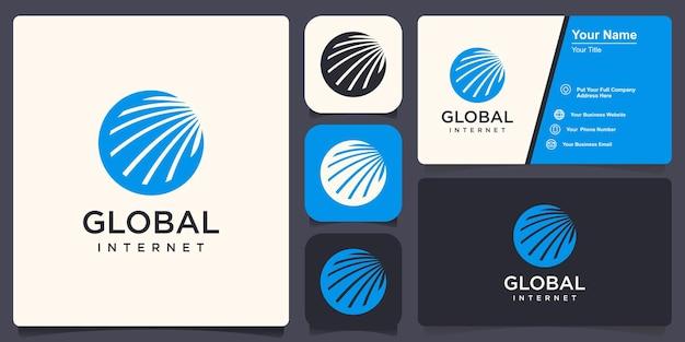 Wereldwijde inspiratie voor logo-ontwerp voor advies