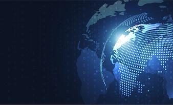 Wereldwijde netwerkverbinding