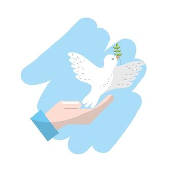 Wereldwijde vrede in de hele wereld om harmonie geest