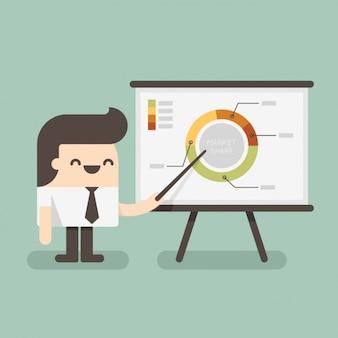 Werk presentatie ontwerp