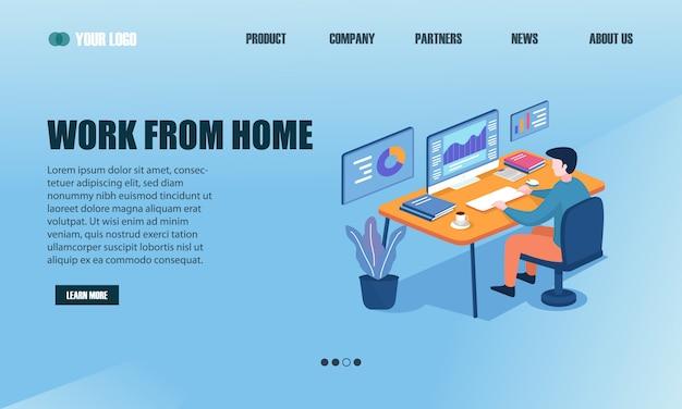 Werk vanuit de startpagina van uw huis