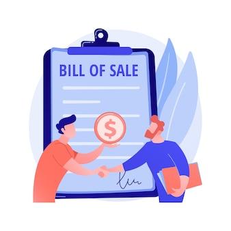 Werkgelegenheid, ondertekening van arbeidscontracten, aanwerving. deal, onderhandelen, betaalde serviceovereenkomst. ondernemers, werkgever en werknemer stripfiguren