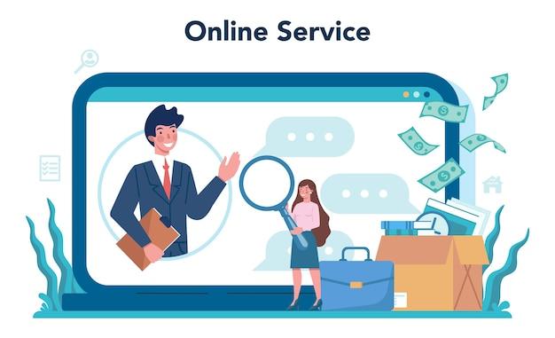 Werklozen online service of platform