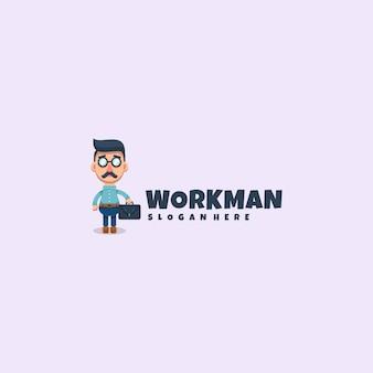 Werkman logo mascotte