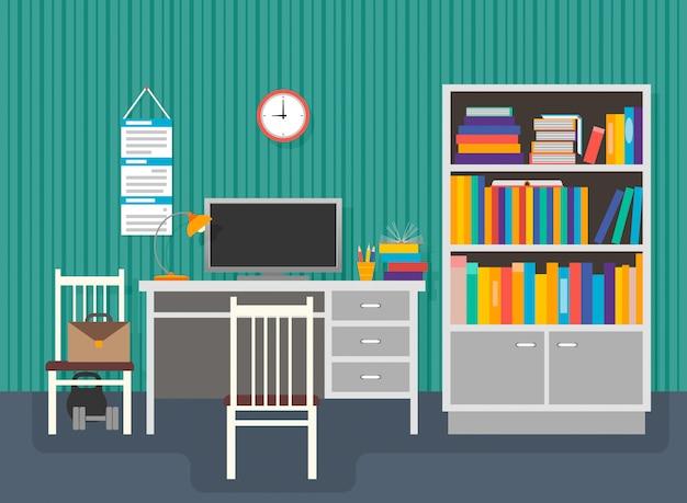 Werkplaats van de student