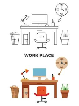 Werkplek concept