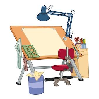 Werktafel opstellen