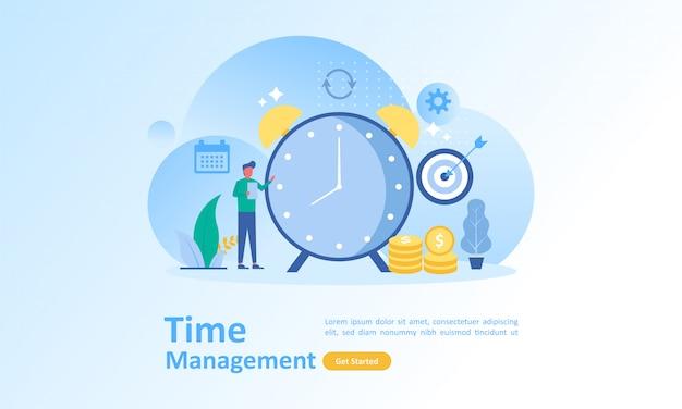Werktijd schema management