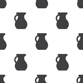 Werper, vector naadloos patroon, bewerkbaar kan worden gebruikt voor webpagina-achtergronden, opvulpatronen