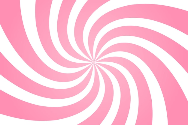 Wervelende radiaal patroon achtergrond. vectorillustratie voor swirl-ontwerp. vortex starburst spiraal twirl vierkant. helix rotatie stralen. convergerende psychedelische schaalbare strepen. leuke zonnestralen.