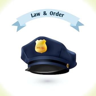 Wet politie hoed