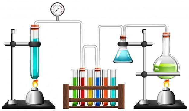 Wetenschap apparatuur