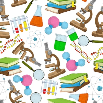 Wetenschap schets naadloze patroon
