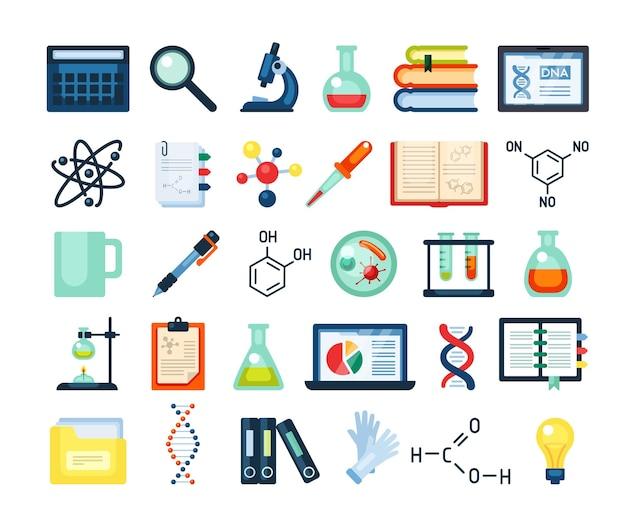 Wetenschappelijk onderzoek inventaris set
